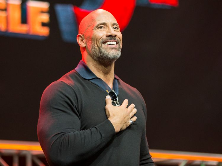 'The Rock' shares first photo with new daughter