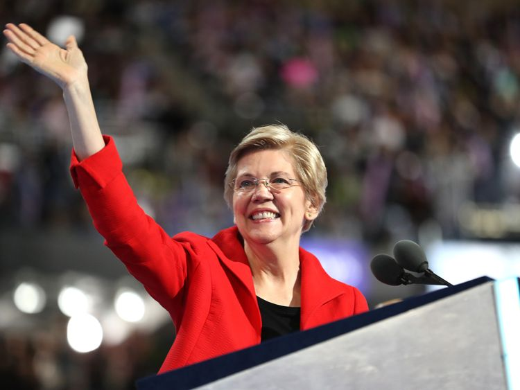 Democrat Elizabeth Warren previously listed herself as having Native American heritage