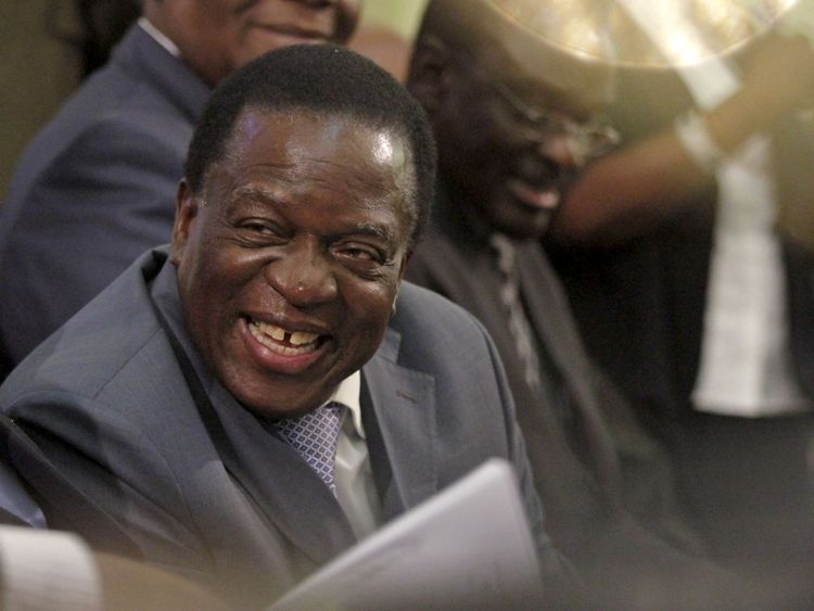 The sacking of Emmerson Mnangagwa triggered the military uprising