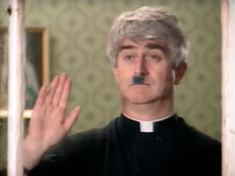 Father Ted broke ground as a sitcom based in a remote island parish. Pic: Hattrick Productions