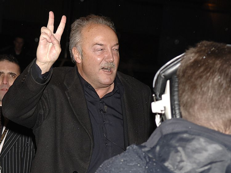 Respect MP for Bethnal Green and Bow George Galloway arrives to enter the Celebrity Big Brother 4 in 2006