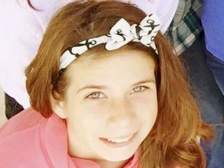 Haley Krueger, victim of shooting at First Baptist Church Sunday in Sutherland Springs, Texas. Pic: GoFundMe