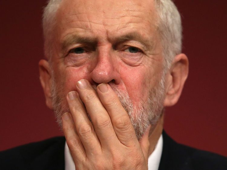 Britain's opposition Labour party leader Jeremy Corbyn takes part in the first day of the Labour Party Conference in Brighton on September 24, 2017. Britain's revitalised Labour opposition kicks off its annual conference today with leader Jeremy Corbyn set to lay out his party's agenda, free from the leadership challenges of previous years