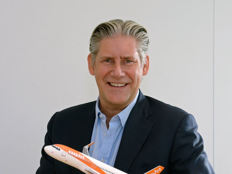 Johan Lundgren is a 30-year travel industry veteran and former deputy CEO of TUI. Pic: easyJet