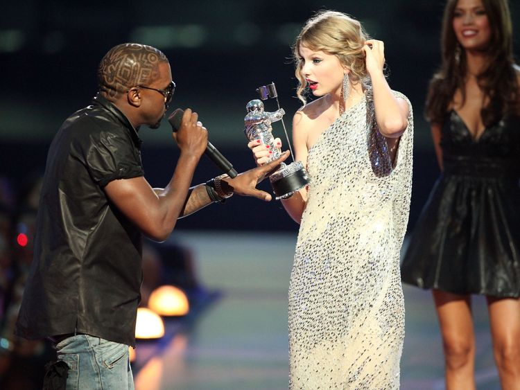The MTV VMAs moment when Kanye sparked his feud with Swift