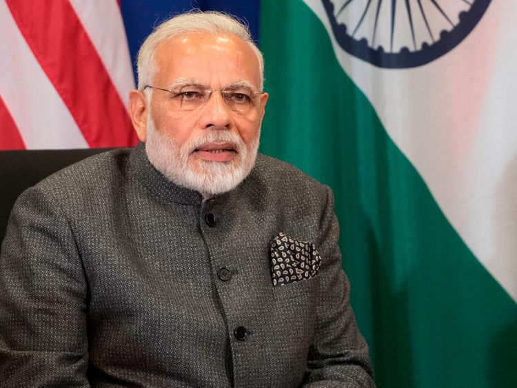 Narendra Modi's ruling party has condemned the threats