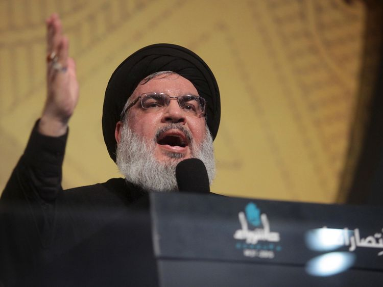 Hezbollah leader Sayyed Hassan Nasrallah said Lebanon maintained a legitimate government