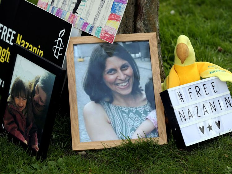 Johnson to 'leave no stone unturned' for Nazanin