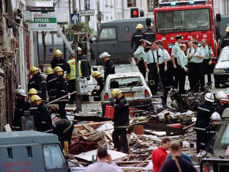 Omagh bombing in 1998