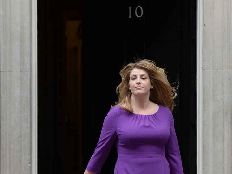Penny Mordaunt named as Priti Patel's replacement as International Development Secretary