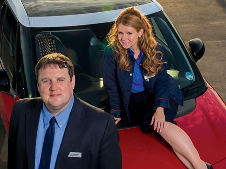 Car Share image of Peter Kay and Sian Gibson