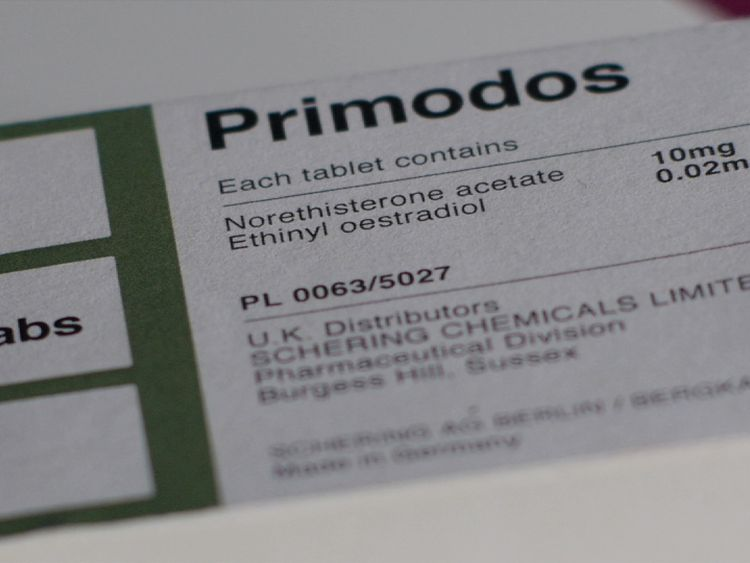 Primodos was given to pregnant women in the 1960s and 70s