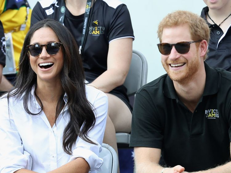 The couple appeared very close during the Invictus Games 2017 in September 2017