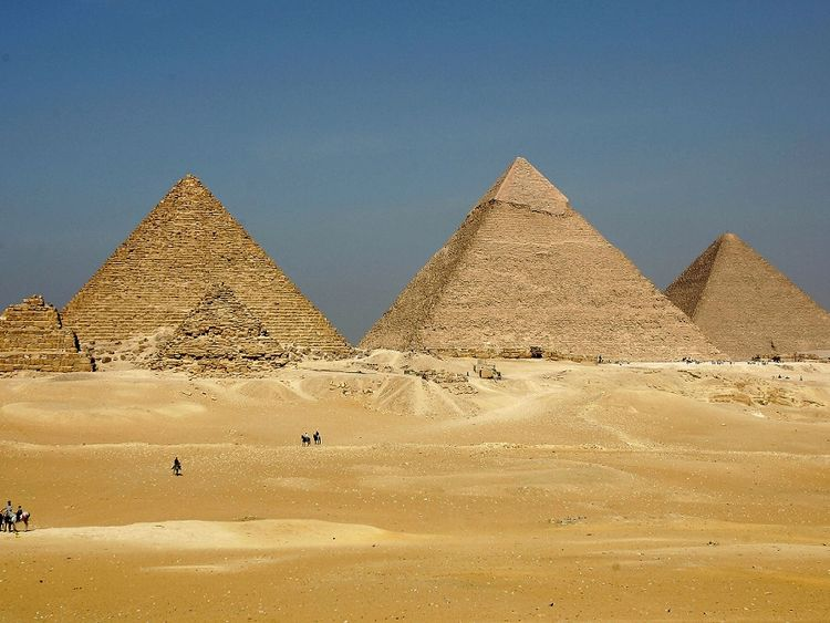 Mysterious void discovered in Great Pyramid