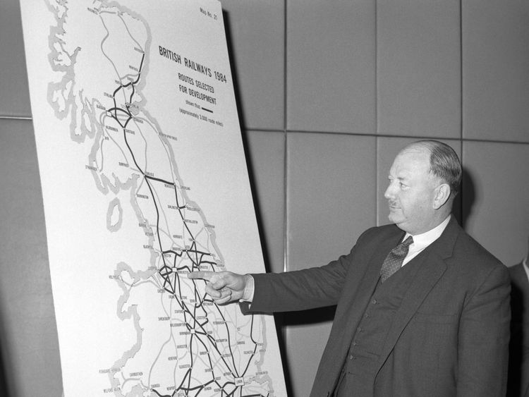 Rail lines closed in the 1960s could be reopened