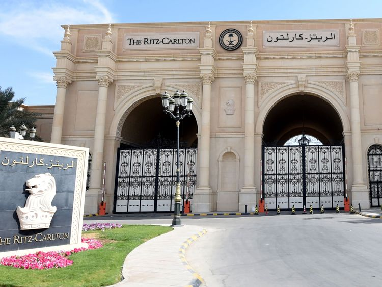 All those detained under the crackdown are being held at a five-star hotel in Riyadh
