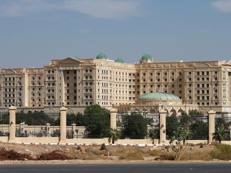 The Ritz-Carlton hotel, Riyadh