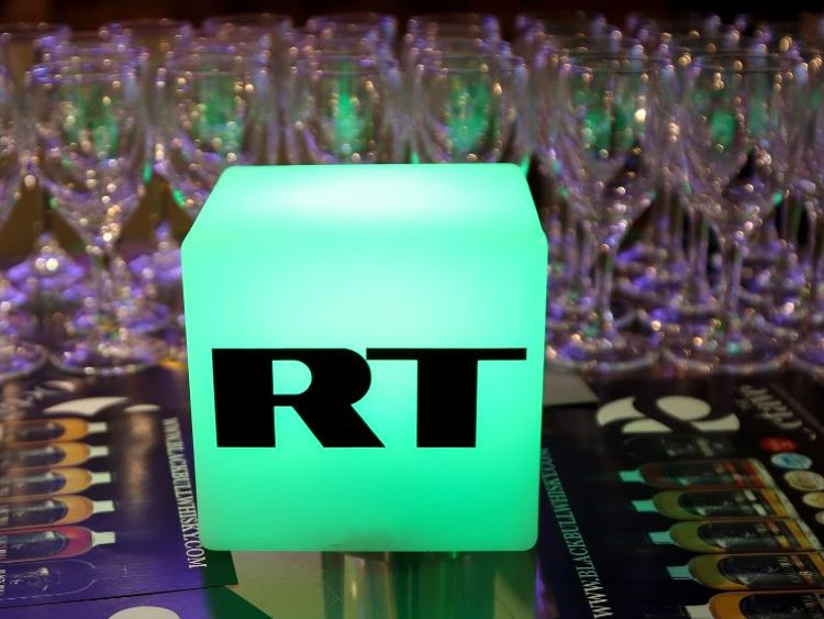 Drinks were in full flow at the launch party for Salmond's RT show