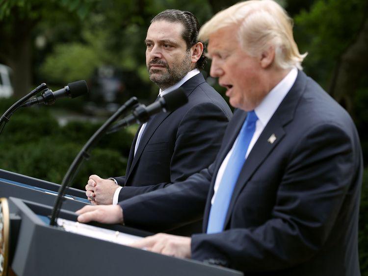 Saad Hariri visited Washington in July