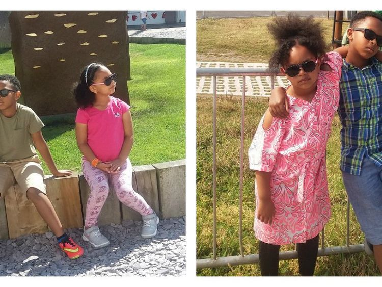 Endris Mohammed was found guilty of murdering Saros Endris, eight, and Leanor Endris, six