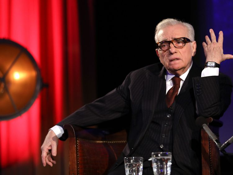 Martin Scorsese appearing on stage as part of the 'In Conversation' series of events at BFI Southbank