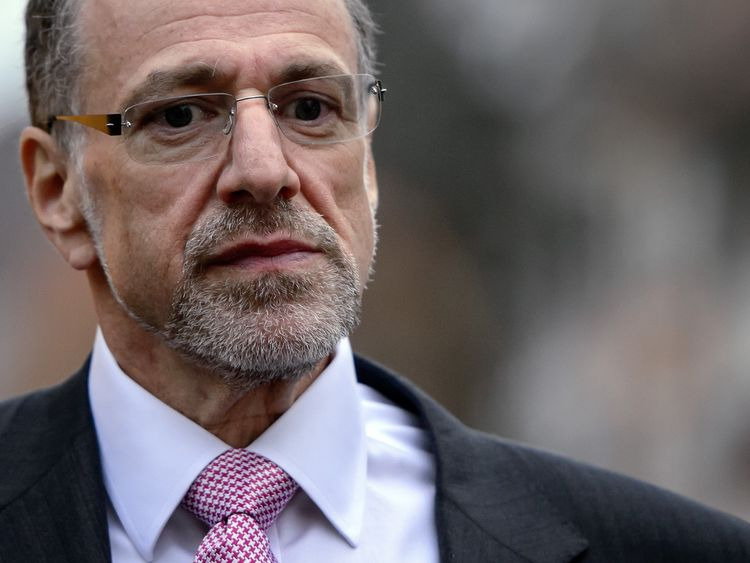 Former Xstrata boss Sir Mick Davis is currently chief executive of the Conservative Party