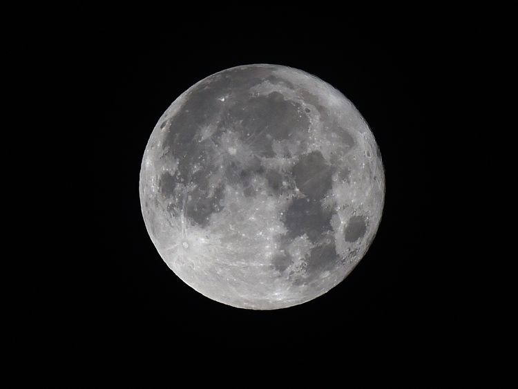 The Hunter's Moon of 2016 was the largest in 70 years