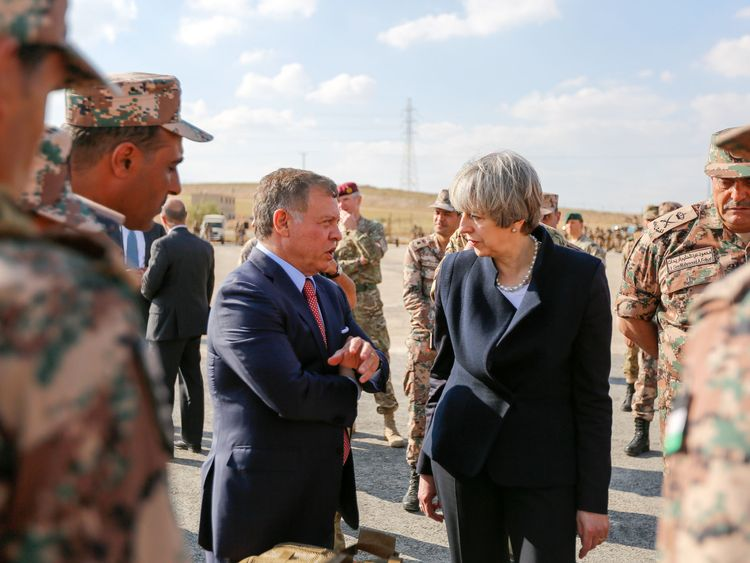 The Prime Minister previously met Jordan's King Abdullah II in April