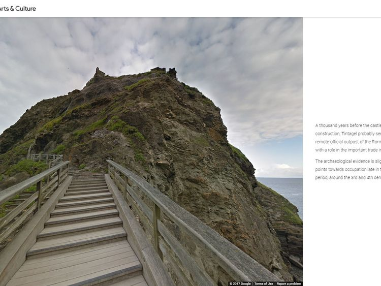 Historic sites brought to life on Google