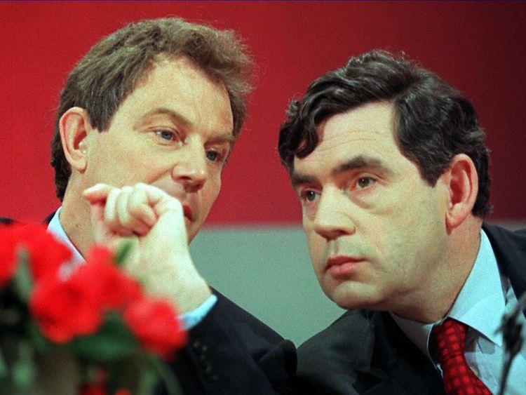 Brown turns on Blair over