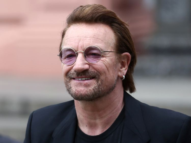 Bono's name appears in the so-called Paradise Papers