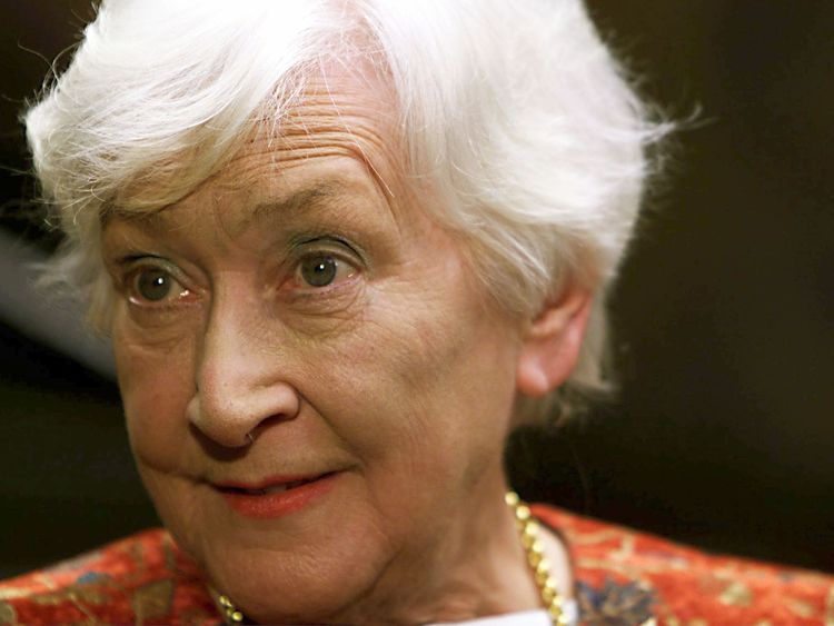Mrs Ewing was the oldest member of the new Scottish Parliament when it reconvened in May 1999