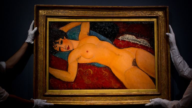 Amedeo Modigliani's Nu couche