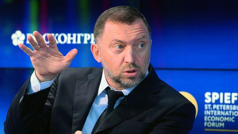 Russian billionaire Oleg Deripaska
