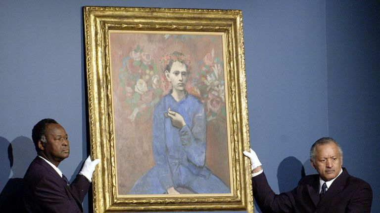 Pablo Picasso's Boy with a Pipe