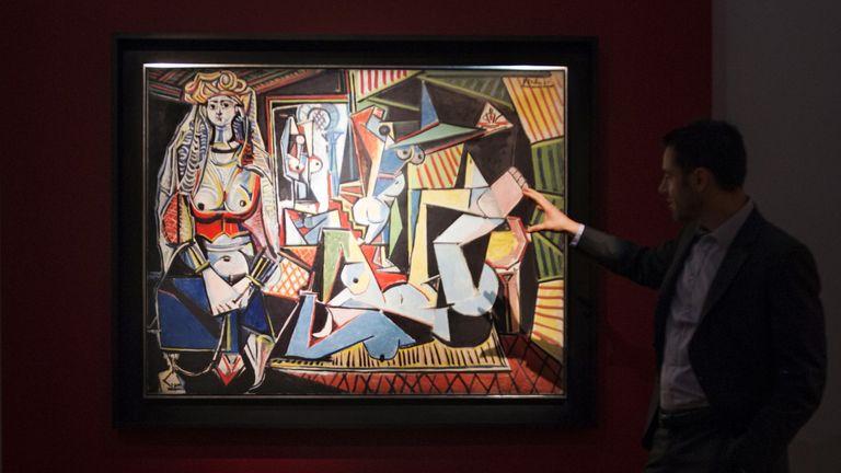 Pablo Picasso's Les femmes d'Alger (Women of Algiers)