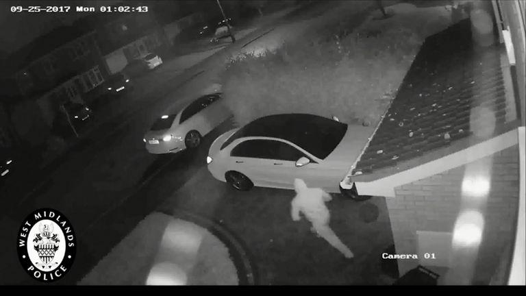 Relay Crime footage. Credit: West Midlands Police