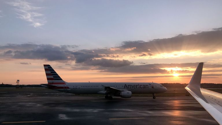 American Airlines has given all its pilots holiday by mistake. File pic