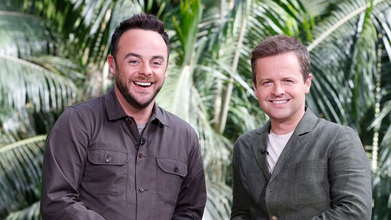 Ant and Dec studio set released by ITV ahead of I'm A Celebrity ... Get Me Out Of Here! 2017. Pic: ITV