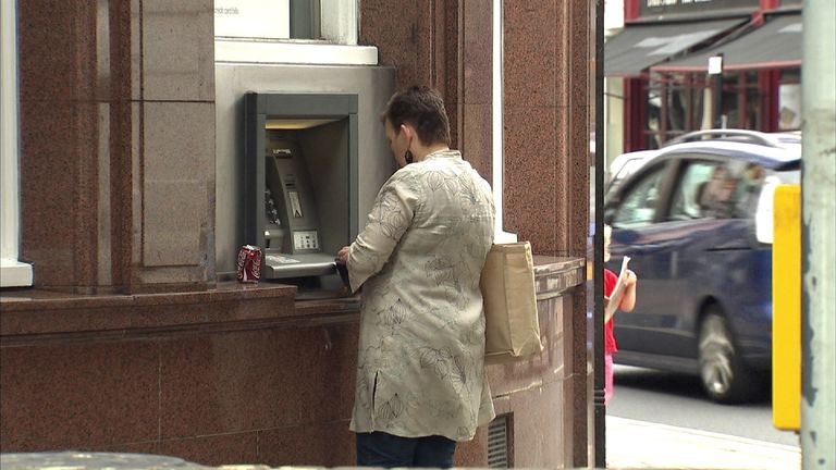 There are 55,000 free-to-use ATMs in the UK currently
