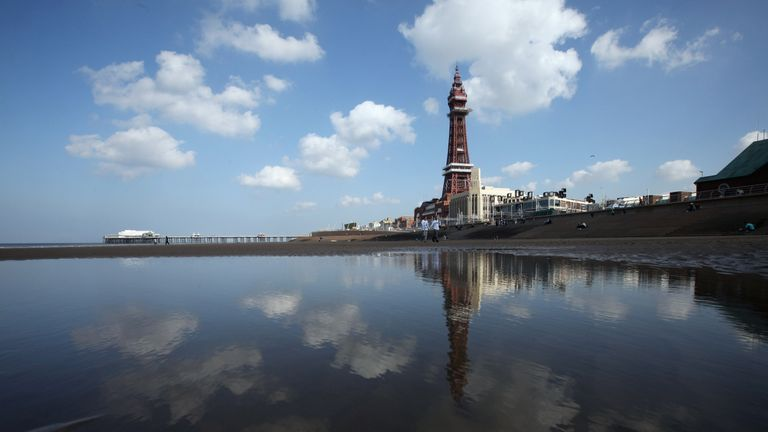 Blackpool is where children appear to be most at risk