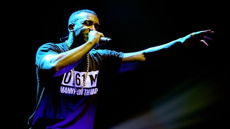 Grime artist Bugzy Malone is hoping to beat Stormzy to Best Male act at the Mobos 2017