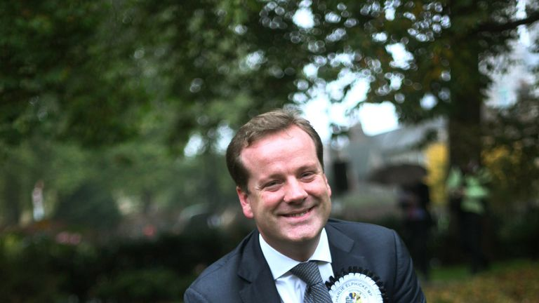 Mr Elphicke previously worked as a tax lawyer and pharmaceutical research