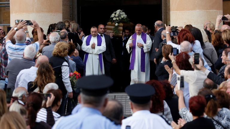 Malta designated the day of the funeral a day of national mourning