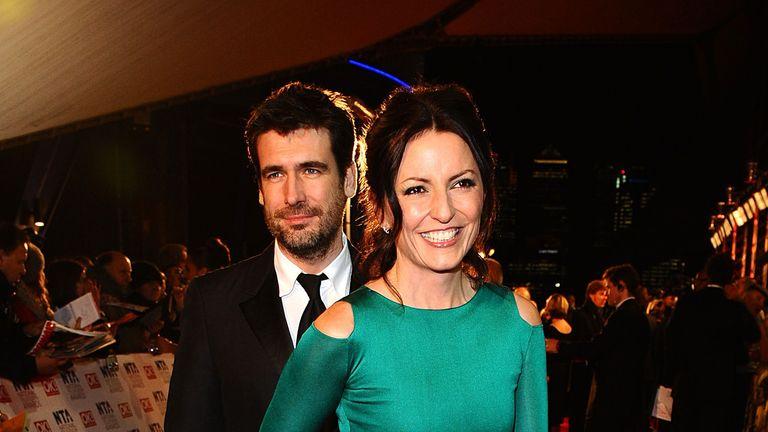 Davina McCall and Matthew Robertson in 2011