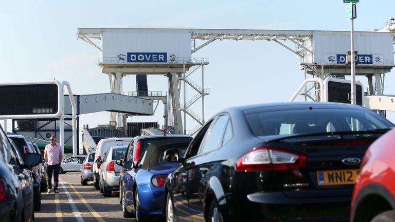 Queues at Dover