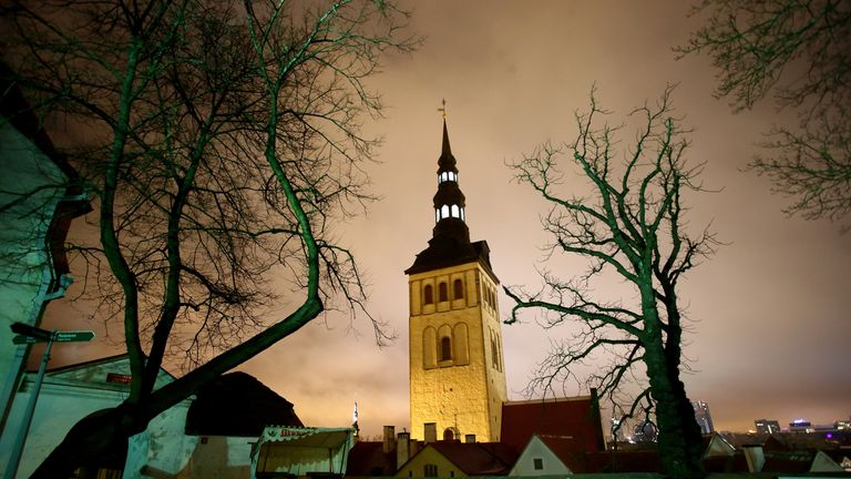 The government in Tallinn has shut down the online ID services
