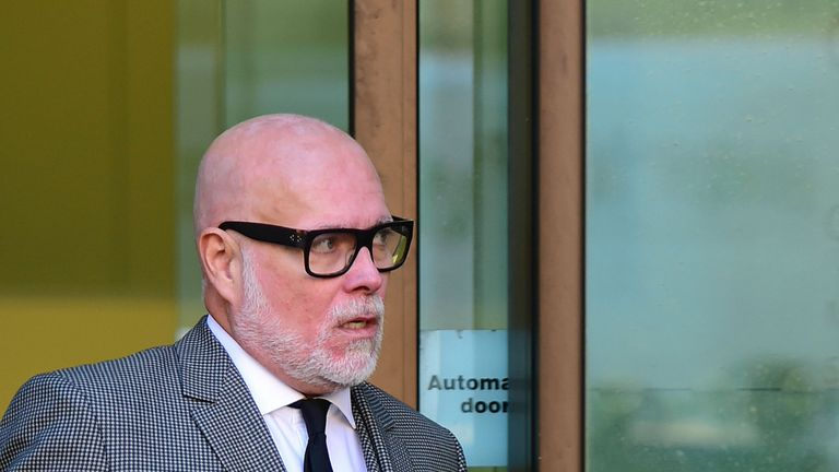 Gary Goldsmith was fined and given a community order after admitting to assaulting his wife