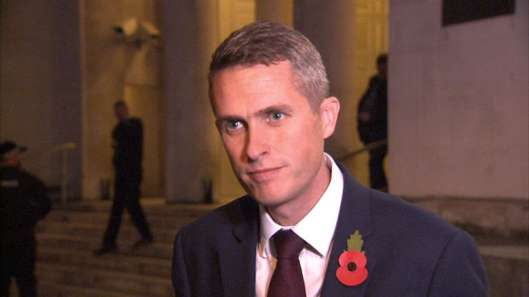 Gavin Williamson MP is the new Secretary of State for Defence