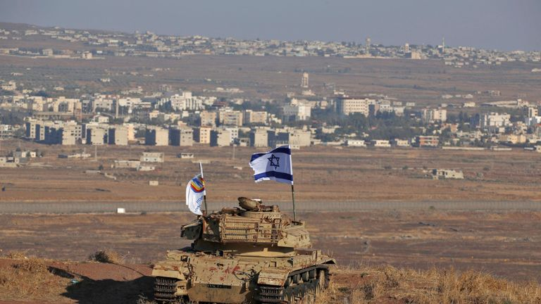 Britain does not recognise Israel's annexation of the Golan Heights